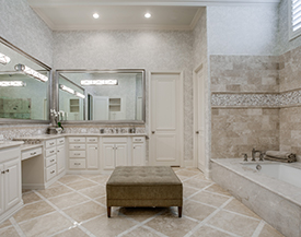 J Williams Construction Remodeling Inc Our Work Home - Bathroom remodeling allen tx